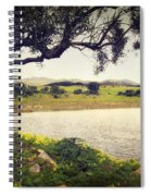 Tree By The Lake Spiral Notebook