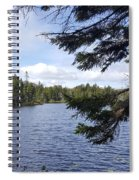 Tree By The Water Spiral Notebook