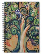 Tree Candy Spiral Notebook