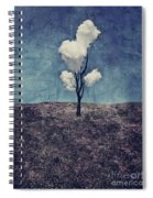 Tree Clouds 01d2 Spiral Notebook