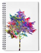 Tree-colorful Spiral Notebook