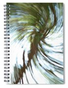 Tree Diptych 1 Spiral Notebook