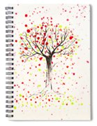 Tree Explosion Spiral Notebook