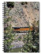 Tree Framed Engine Spiral Notebook