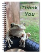 Tree Frog Thank You Spiral Notebook