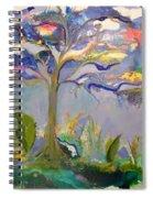 Ewe Is In The Tree Spiral Notebook