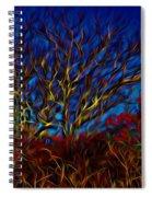 Tree Glow In The Dark Spiral Notebook