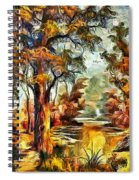 Tree Impression Spiral Notebook