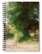 Tree In The Road Spiral Notebook