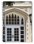 Tree, Lamp And Door Spiral Notebook