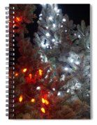 Tree Lights Spiral Notebook