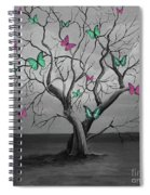 Tree Of Butterflies  Spiral Notebook