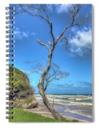 Tree Of Clouds Spiral Notebook