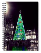 Tree Of Hearts In Green 2 Spiral Notebook