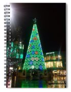 Tree Of Hearts In Green Spiral Notebook