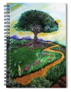 Tree Of Imagination Spiral Notebook