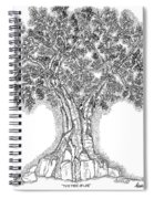 Tree Of Life 1 Spiral Notebook