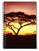 Tree Of Life Africa Spiral Notebook
