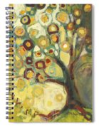 Tree Of Life In Autumn Spiral Notebook