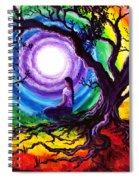 Tree Of Life Meditation Spiral Notebook