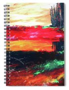 Tree Reflected Spiral Notebook