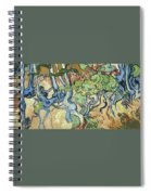 Tree-roots Spiral Notebook