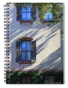 Tree Shadows On Savannah House Spiral Notebook