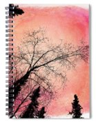 Tree Silhouettes I Spiral Notebook