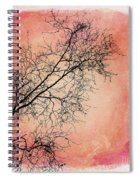 tree silhouettes II Spiral Notebook