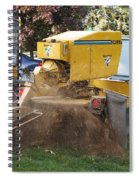 Tree Stump Removal Spiral Notebook