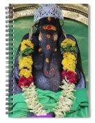 Tree Temple Ganesha, Valparai Spiral Notebook