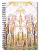 Tree Temple Spiral Notebook