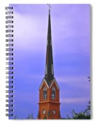 Tree Top Steeple Spiral Notebook