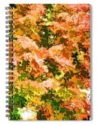 Tree With Autumn Leaves Spiral Notebook
