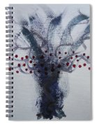 Tree With Balls Five Spiral Notebook