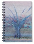 Tree With Balls Four Spiral Notebook