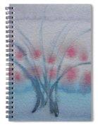 Tree With Balls Three Spiral Notebook