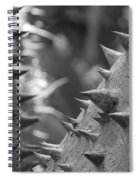 Tree With Spikes And Thorns Spiral Notebook