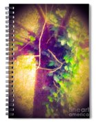 Tree With Vine Spiral Notebook