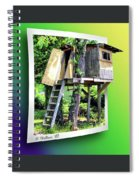 Treehouse Fort Spiral Notebook
