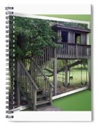 Treehouse Playground Spiral Notebook