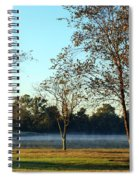 Trees By The Water Spiral Notebook