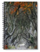 Trees Embracing Spiral Notebook