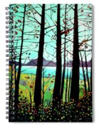 Trees In Fall Spiral Notebook
