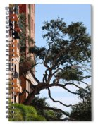 Trees In Space Spiral Notebook