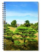 Trees In The City Spiral Notebook