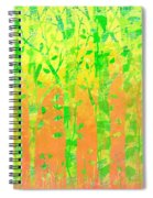 Trees In The Grass Spiral Notebook