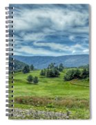Trees In The Valley Spiral Notebook