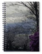 Trees Of Spring Spiral Notebook