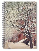 Trees On Franklin Spiral Notebook
